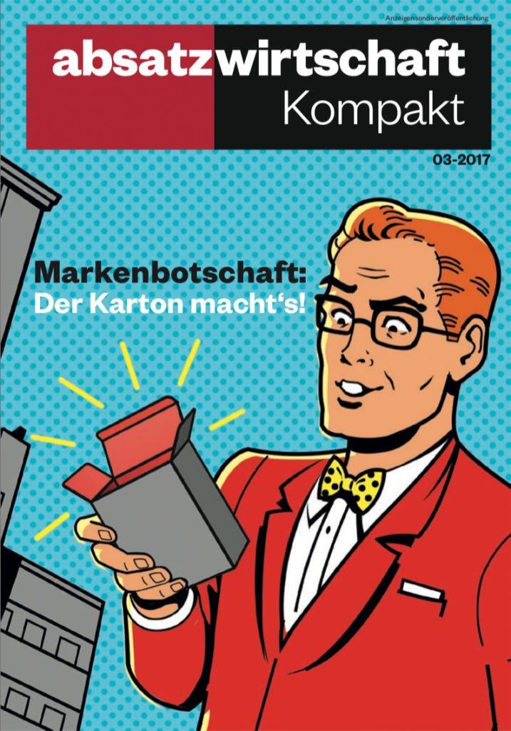 Kompakt Booklet absatzwirtschaft - Markenbotschaft: Der Karton macht´s!
