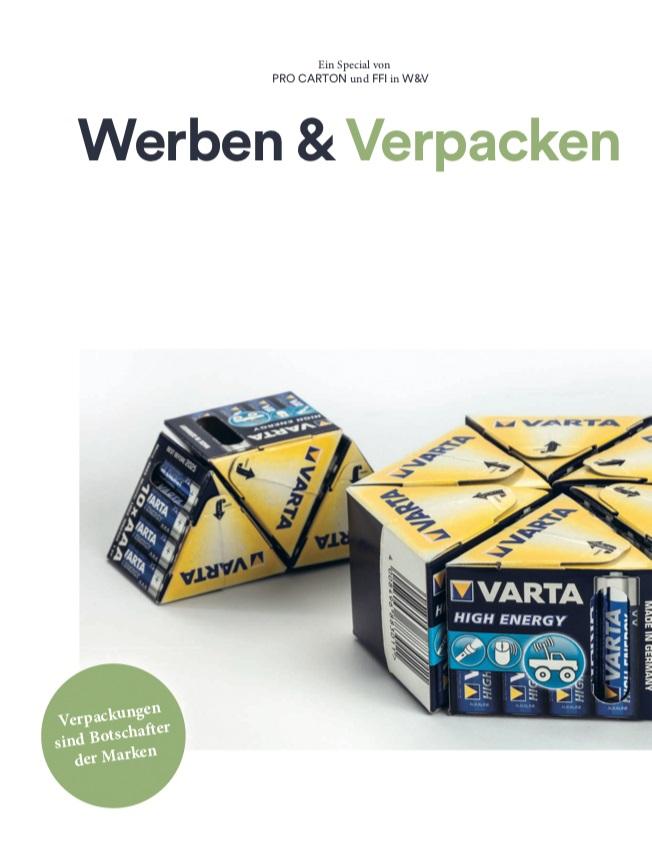Werben & Verpacken - Verpackungen sind Botschafter der Marken