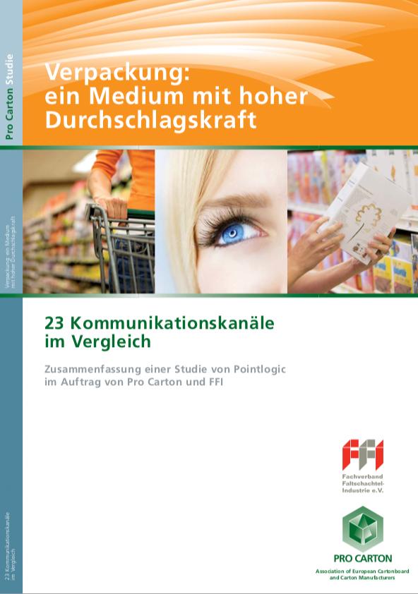FFI Pro Carton-Studie - 23 Kommunikationskanäle
