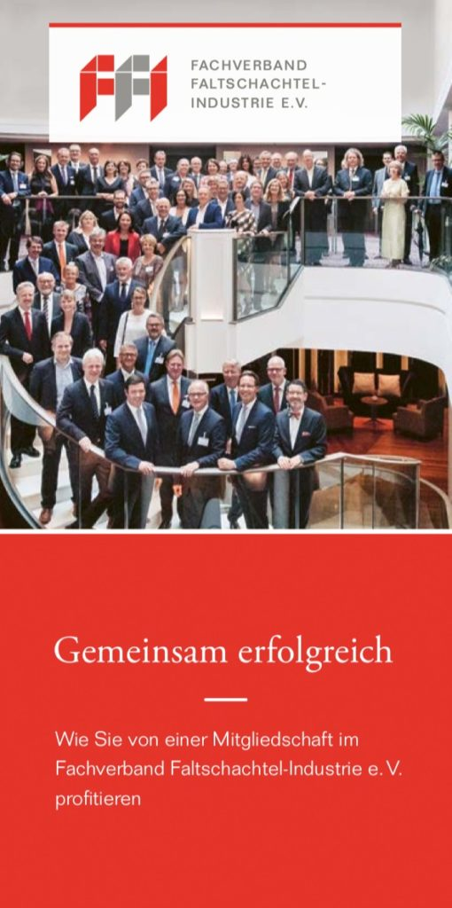 """FFI Imagebroschüre """"Gemeinsam erfogreich"""""""