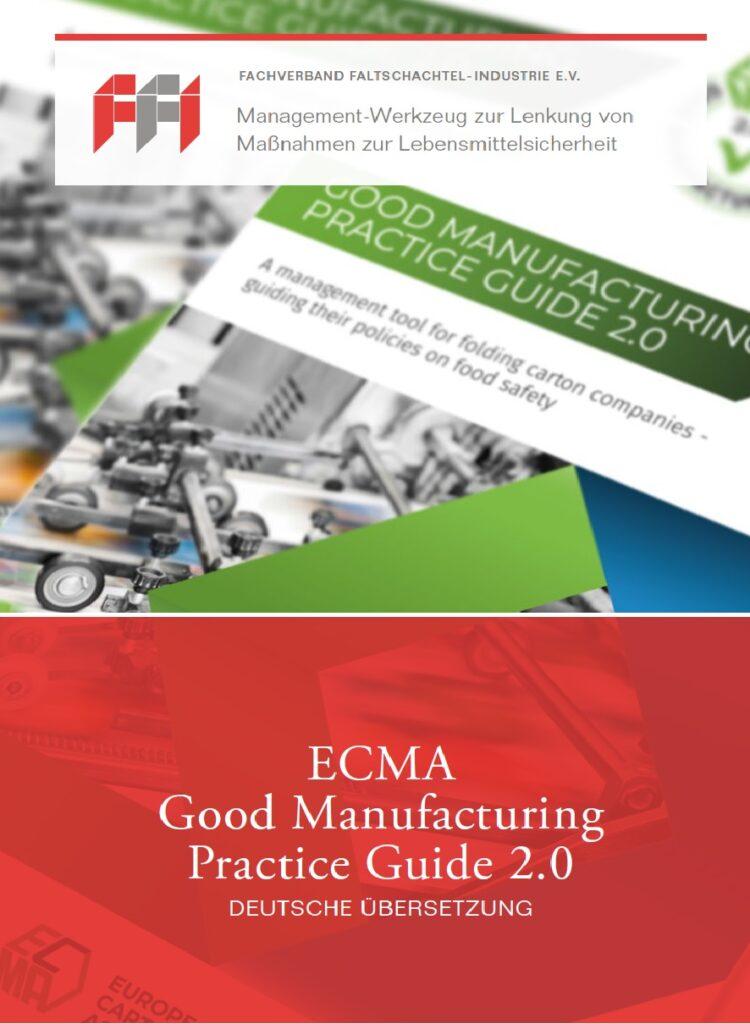ECMA  Good Manufacturing Practice Guide 2.0  (Deutsche Übersetzung, 2021)